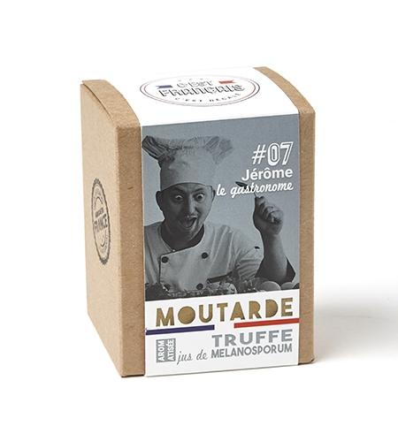 Moutarde aromatisée au jus de truffe (melanosporum)