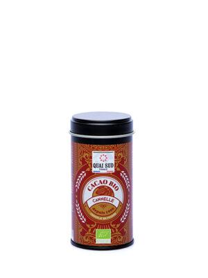 cacao bio saveur cannelle mini boite 75g Quai Sud