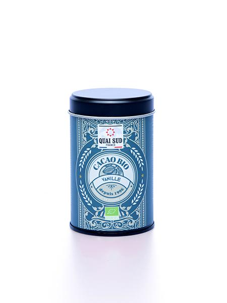 cacao vanille bio boite pop Quai Sud
