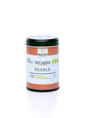café érable moulu 150g boite pop Quai Sud