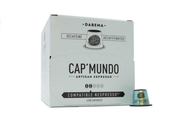 Boite de 100 capsules de café Zebrano Cap Mundo