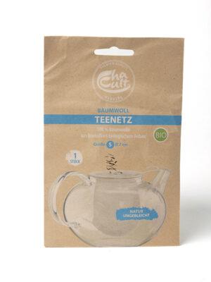 Chaussette à thé en tissu bio pour théière