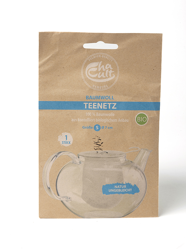 Chaussette à thé en tissu pour théière