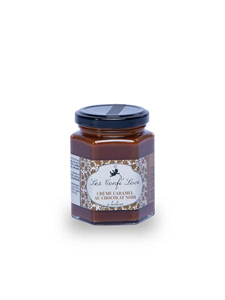 Confi'love crème caramel au chocolat noir Gourmet in love