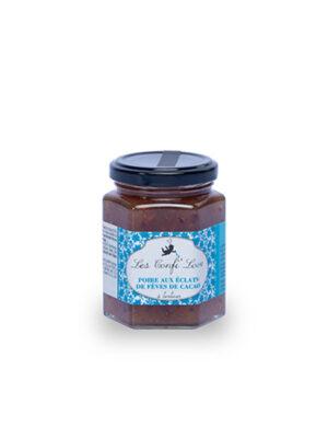 Confi'love poire aux éclats de fèves de cacao Gourmet in love