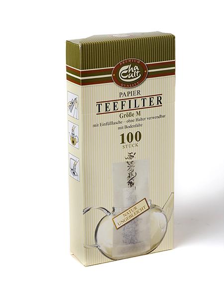 100 filtre à thé en papier