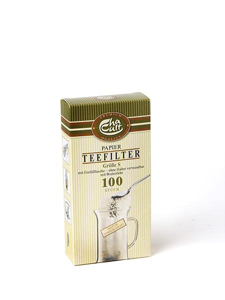 100 filtre à thé en papier pour tasse