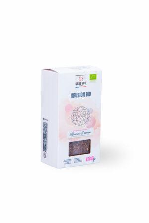 Infusion Bio hibiscus pomme Quai Sud boite carton