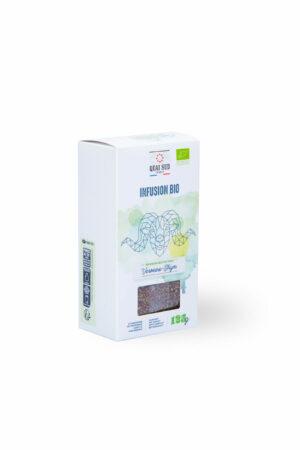 infusion bio verveine thym Quai Sud boite carton