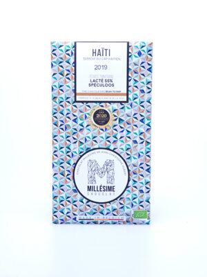 tablette chocolat lacte speculoos haiti millésime quai sud