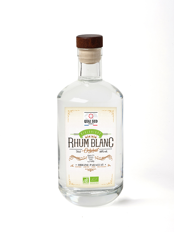 Rhum blanc nature 40 % vol.