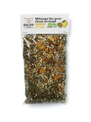 mélange pour rhum bio arrangé mangue citron bi