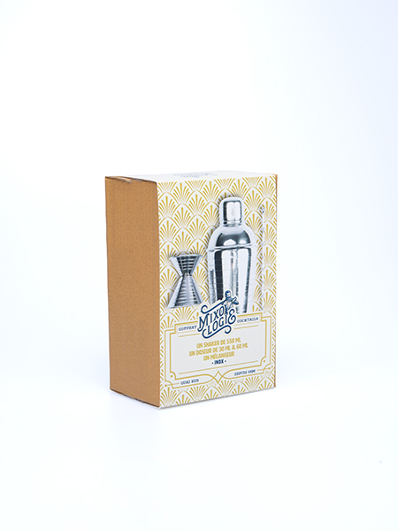 Coffret set d'accessoires pour cocktails mixologie Quai Sud