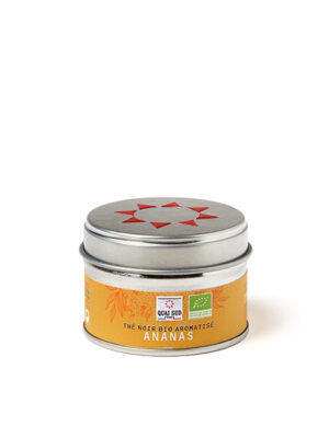 Thé bio ananas mini boite pop Quai Sud
