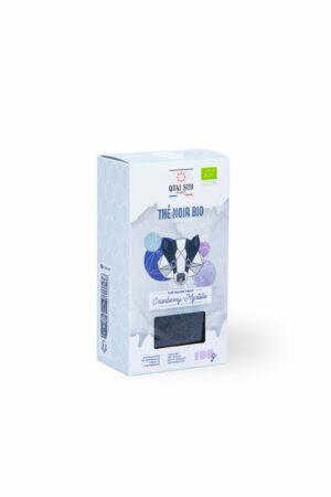 Thé noir BIO Cranberry et myrtille Quai Sud boite carton