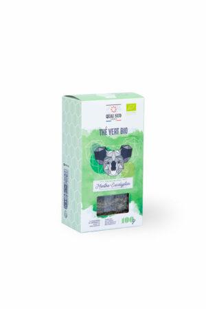 Thé vert BIO menthe eucalypthus quai Sud boite carton