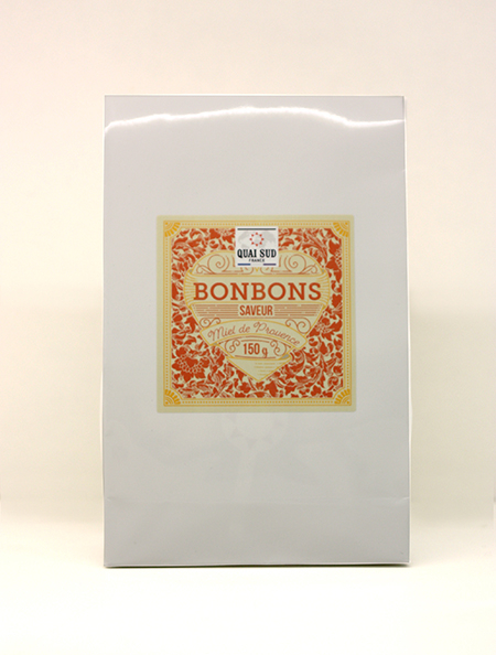 bonbons saveur miel de provence kraft blanc-0