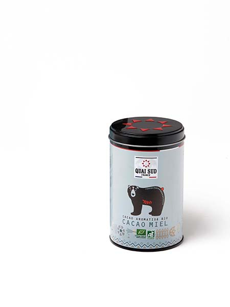 CACAO AROMATISE MIEL BIO OURS-0