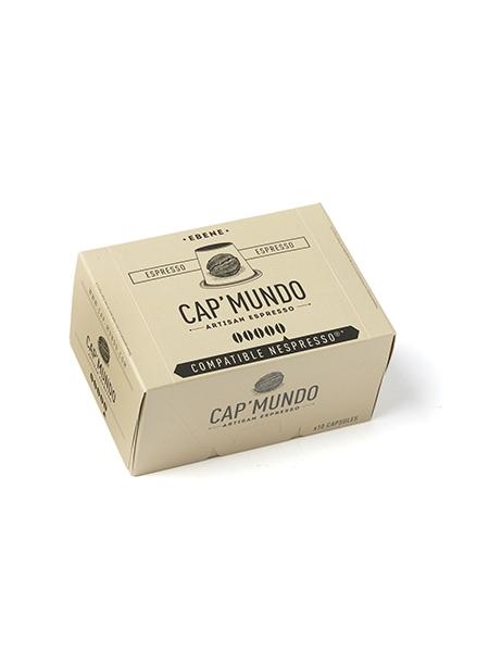 Cap Mundo Ebenholz Kaffeekapseln