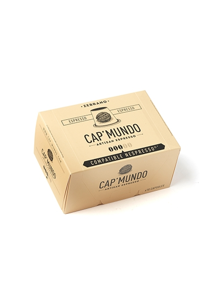 Zebrano Harmonisch cap mundo Kaffeekapseln