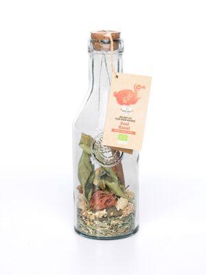 COOL RAOUL Mélange pour RHUM ARRANGE BIO* ( ananas-épices douces) -CARAFE COCKTAIL verre recyclé 60 g-0