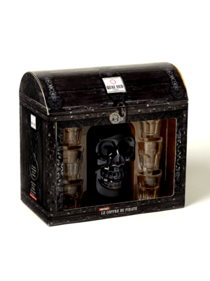 Coffret punch Le coffre du pirate 40% vol.-0