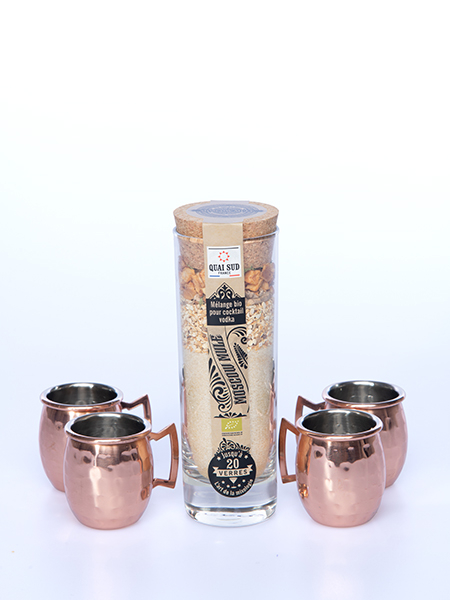 COFFRET SHOT MOSCOW MULE BIO (cocktail + 4 mini shot en cuivre)-12976