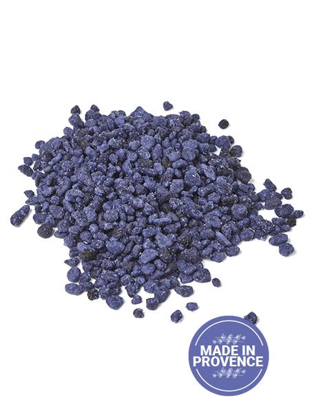 Crystallized Violet Flowers