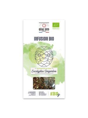 INFUSION BIO EUCALYPTUS - GINGEMBRE Boîte Carton 125 g-0