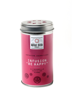 Infusion Be Happy (citronelle, verveine, pomme) Quai Sud