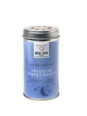 Infusion Sweet Night (camomille, pêche, lavande) Quai Sud