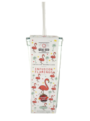 Infusion glacée Flamingo travel mug-0