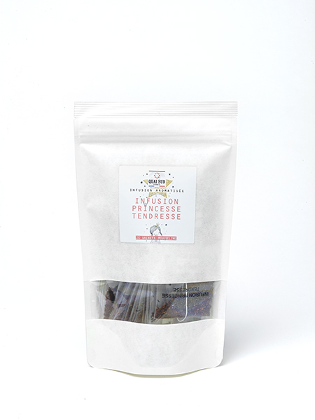 the PRINCESSE TENDRESSE kraft refill 20 tea bags-0