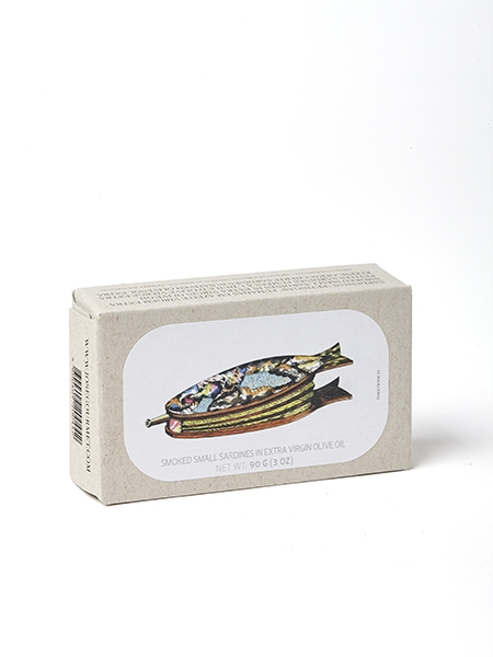 Kleine geräucherte Sardinen José Gourmet