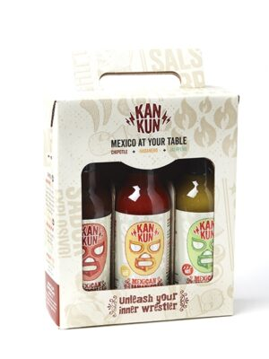 Coffret Sauces Mexicaines Kankun