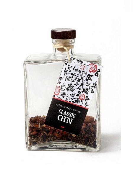 melange pour cocktail classin gin en carafe