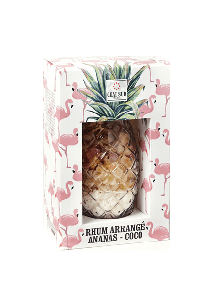Mix for arranged rum Pineapple - Coconut glass Pineapple South Quay