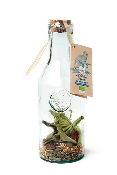 Decanter mix for Alphonse Fonce organic arranged rum (cocoa beans-cinnamon)