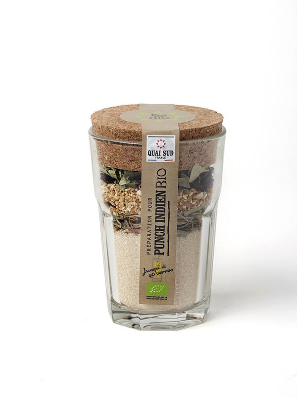 ORGANIC* INDIAN PUNCH MIX (lemongrass) IN GLASS MOJITO-0