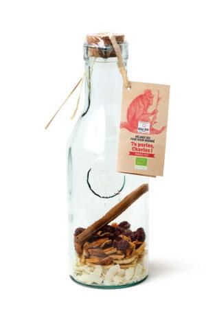 Mischung für bio-arrangierten Rum Tu parles Charles (Kokos-Mango)