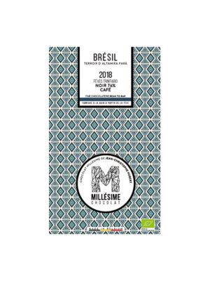 MILLESIME CONGO BIO Tablette de chocolat noir bio 76 % CAFE-0