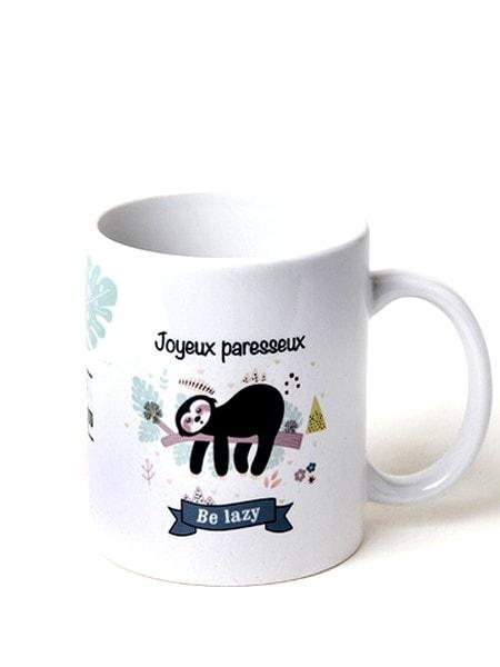 "MUG ""JOYEUX PARESSEUX""-0"