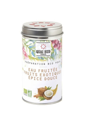 Organic preparation for fruit water Exotic fruits Sweet spices