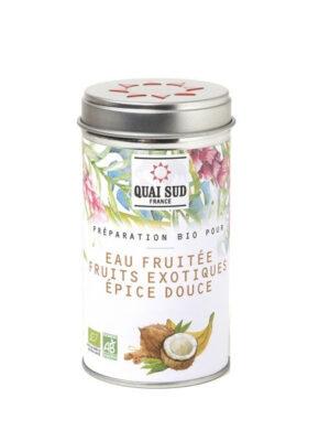 Préparation bio pour eau fruitée Fruits exotiques Épices douces