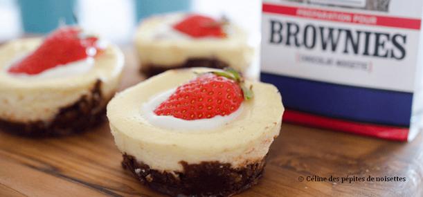 recette2 Brownies cheesecake