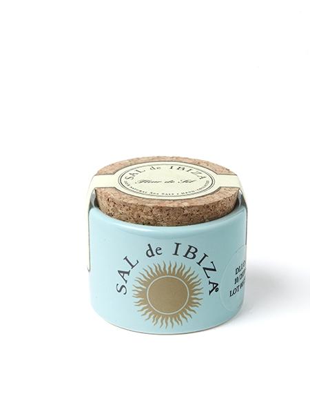 Petit pot de fleur de sel d'Ibiza