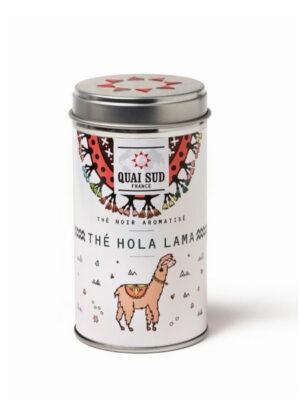 Hola Lama Schwarzer Tee aromatisiert mit Mohn