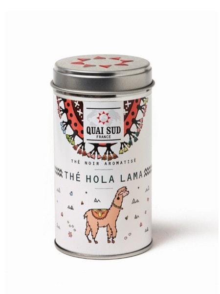 Hola Lama Black Tea flavoured with poppy