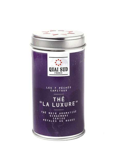 La Luxure black tea (cherry, ginger, rose petals) Quai Sud