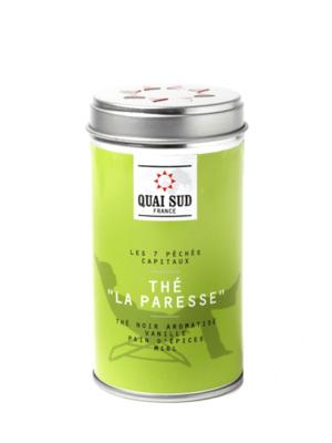 Thé noir La Paresse (vanille, pain d'épices, miel) Quai Sud